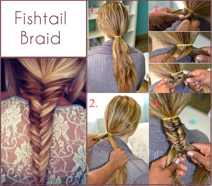 how to fish tail braid - photo #29