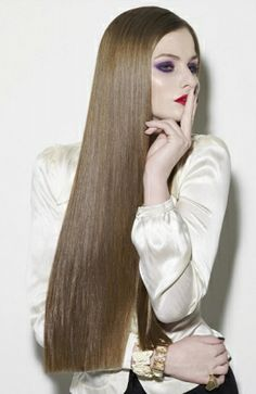 how to achieve straight hair